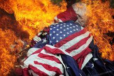 Flag Burning Clip Art (46+).