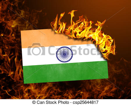 Indian flag burning Images and Stock Photos. 26 Indian flag.