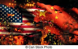 burning american flag clipart #15