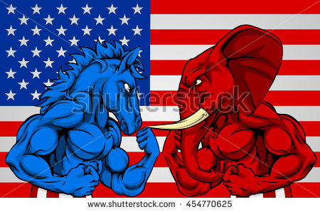 Democratic Party Stock Images, Royalty.