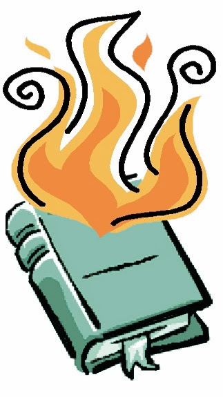 Burning books clipart 3 » Clipart Station.