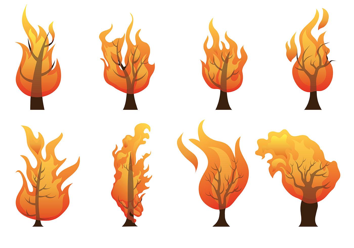Burning bush clipart 5 » Clipart Station.