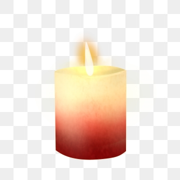 Burning Candle PNG Images.