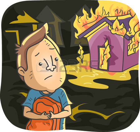 7,066 House Fire Stock Illustrations, Cliparts And Royalty Free.