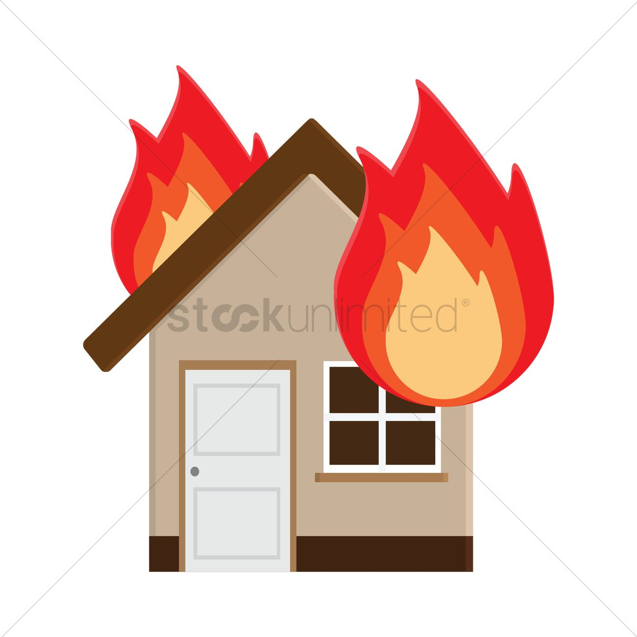 Burning house clipart 3 » Clipart Station.