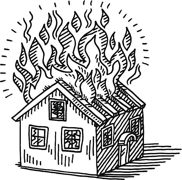 Top 60 Burning House Clip Art, Vector Graphics and Illustrations.