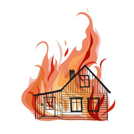 Burning House Clipart (109+ images in Collection) Page 2.