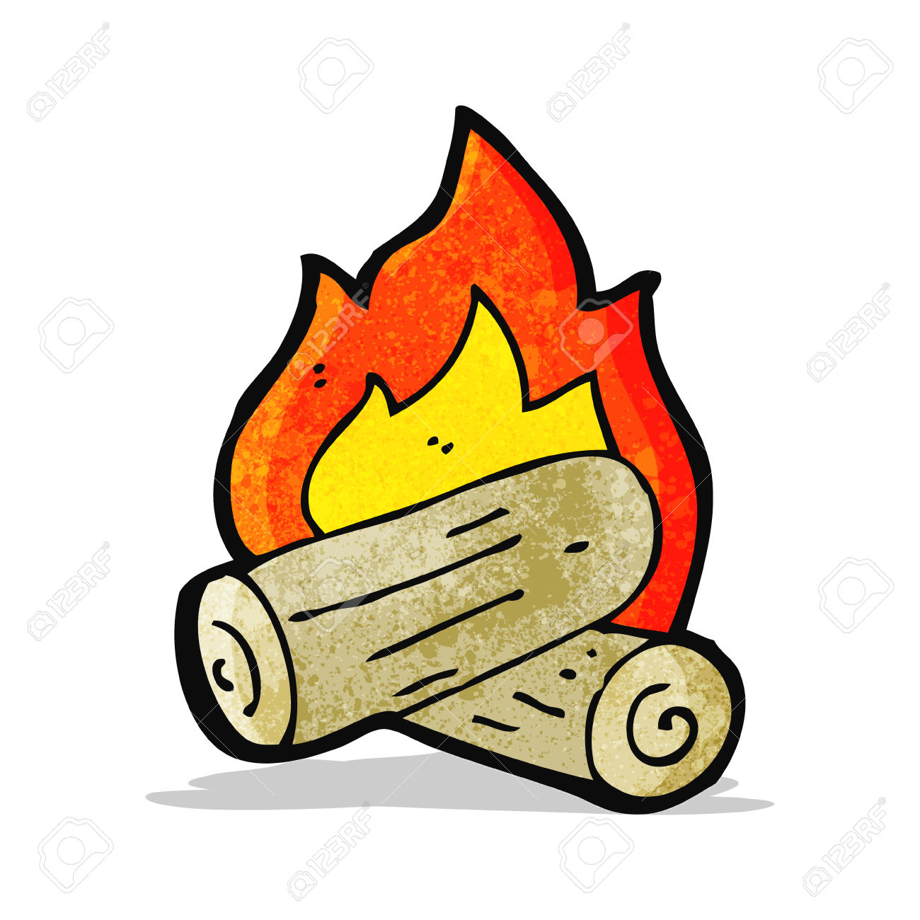 Burning Wood Clipart Burning leaves clipart...