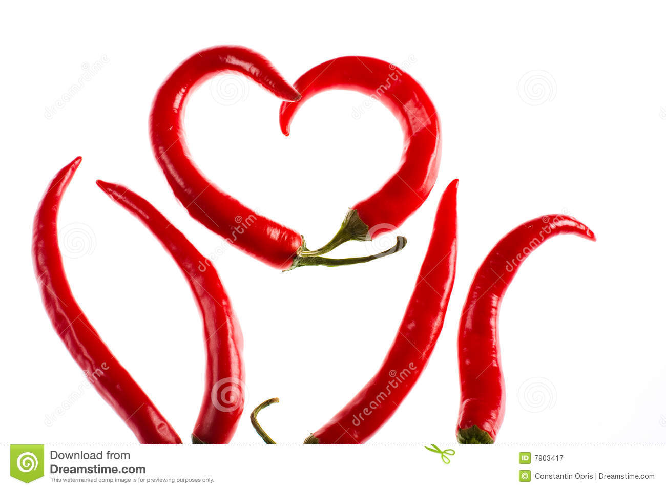 Hot Burning Love Royalty Free Stock Photography.
