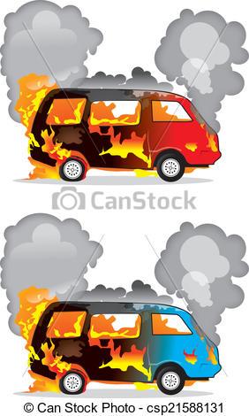 Burning car Vector Clip Art Royalty Free. 823 Burning car clipart.