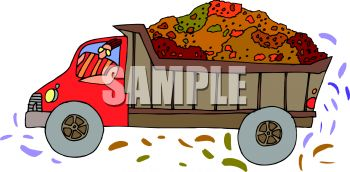 Garbage truck clipart images.