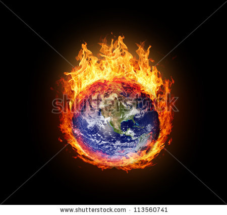 Global Warming Stock Images, Royalty.