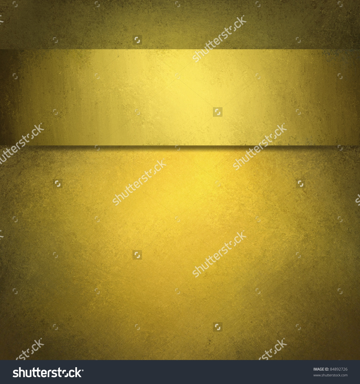 Burnished Gold Background With Vintage Grunge Texture And.