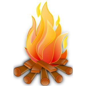 Fire 7 clip art.