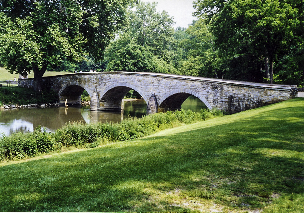 Burnside's Bridge at Antietam Battlefield, Maryland.