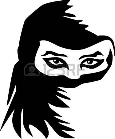 91 Burka Stock Vector Illustration And Royalty Free Burka Clipart.