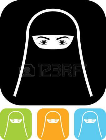 125 Burqa Stock Vector Illustration And Royalty Free Burqa Clipart.