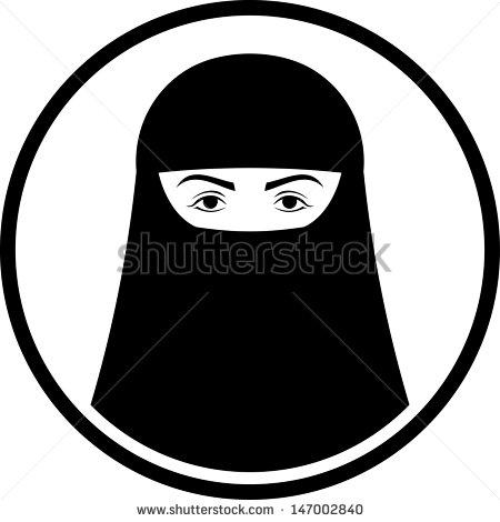 Burqa Clipart.