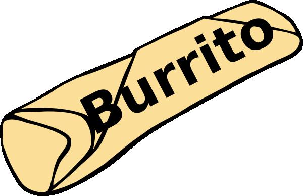 Free burrito clipart.