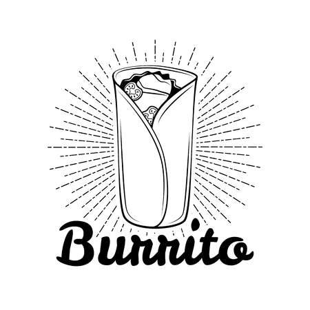 4,079 Burrito Stock Illustrations, Cliparts And Royalty Free.