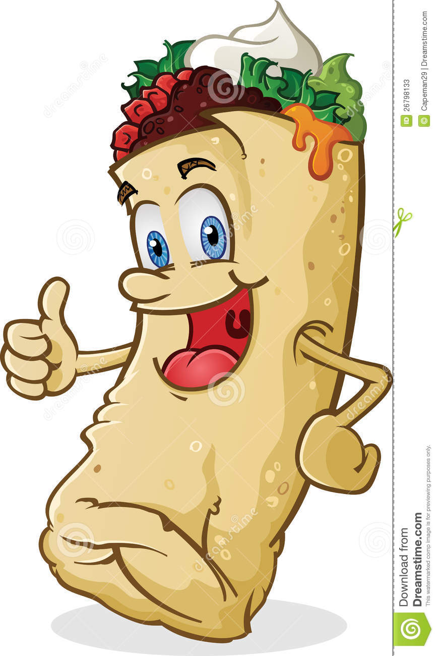 fast food lunch dinner ff menu clip art. burrito clipart.