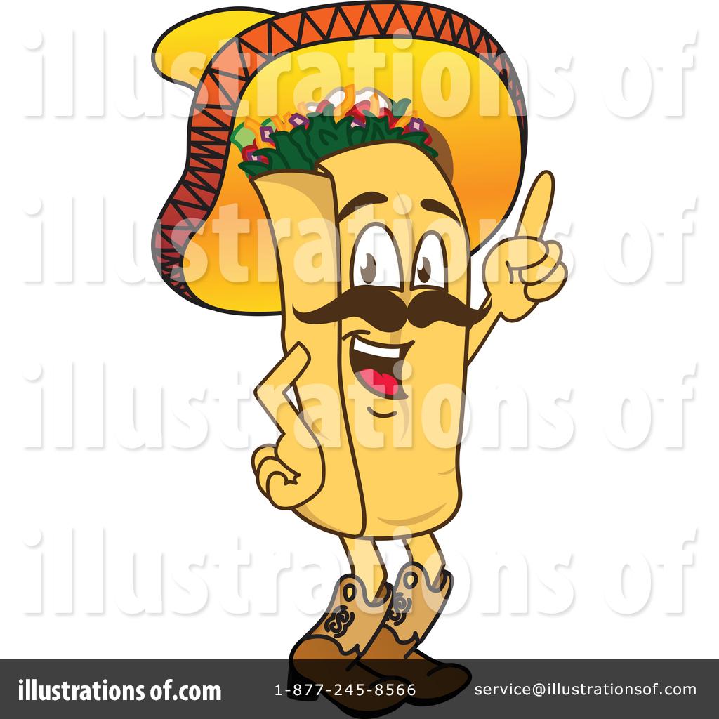 Chipotle burrito clip art.