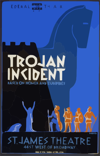 Federal Theatre Presents Trojan Incident Based On Homer And.