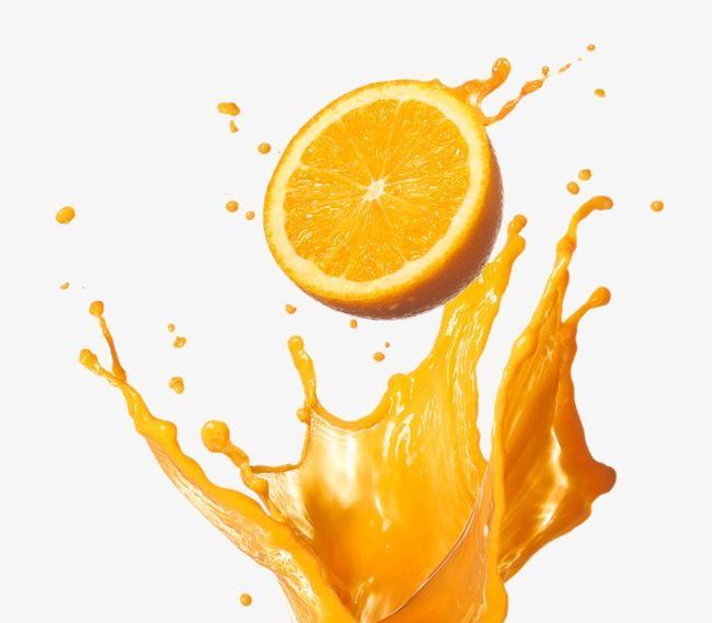 Splash Of Orange Juice, Splash Clipart, Orange Clipart.
