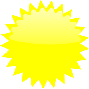Yellow Burst Clipart.