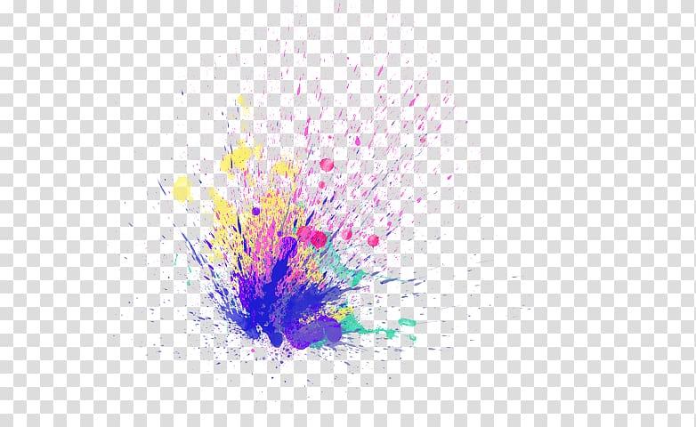 PicsArt Studio Sticker Color Desktop , burst effect.