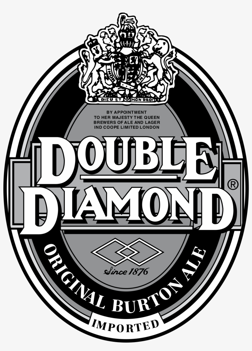 Double Diamond Logo Png Transparent.