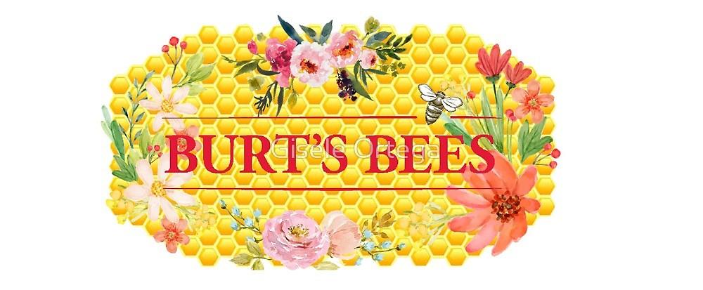 Burt\'s Bees Flower Honeycomb Logo\