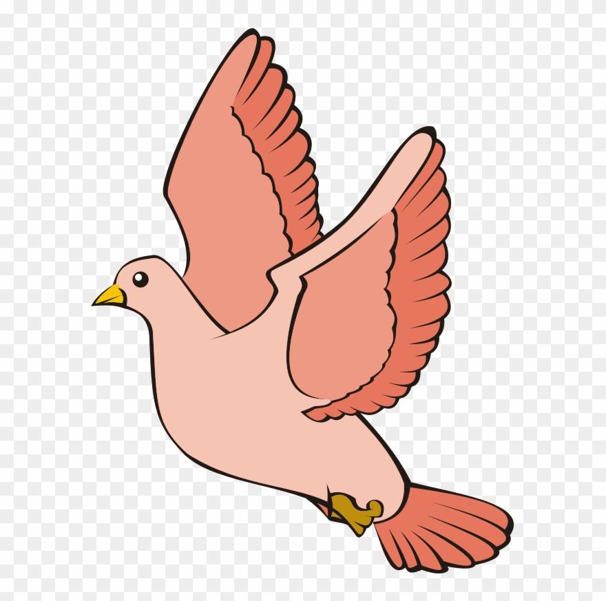 Bird In Flight.