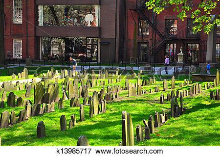 Picture of Granary Burying Ground k13985717.