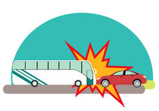 Bus Accident Stock Illustrations.