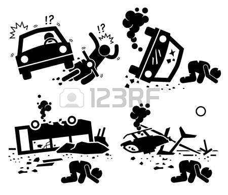 513 Motorcycle Accident Stock Vector Illustration And Royalty Free.