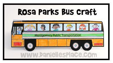 Tonya's Treats for Teachers: MLK update and a Rosa Parks Activity:).