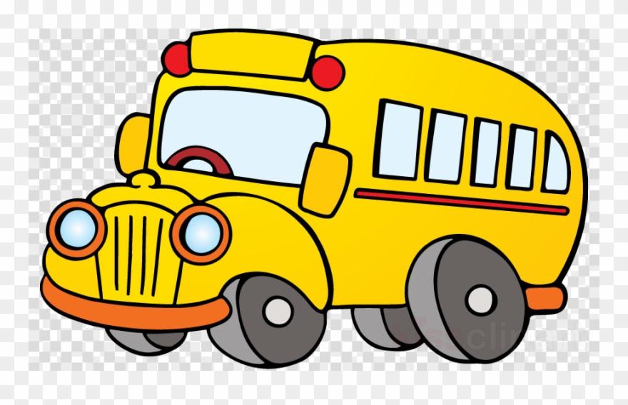 Cartoon Bus Png Clipart School Bus Clip Art.