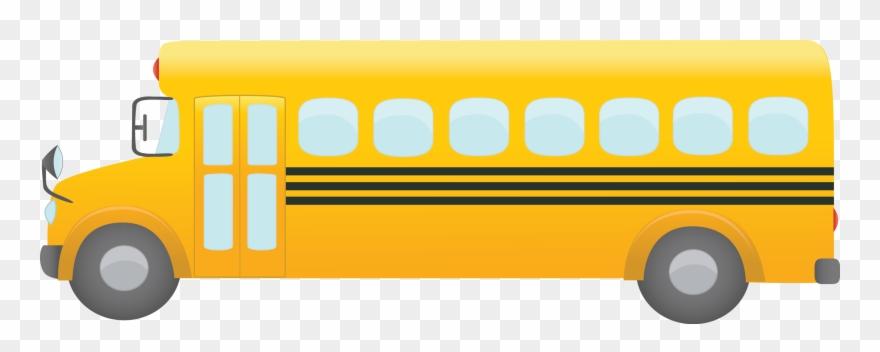 School Bus Clip Art Transparent Techflourish Collections.