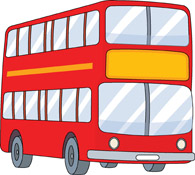 Free Bus Clipart.