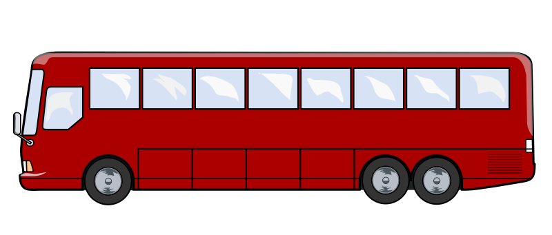 Free to Use & Public Domain Bus Clip Art.