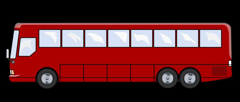 Free to Use & Public Domain Bus Clip Art.