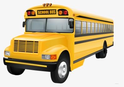 School Bus Clip Art Vector Graphics.