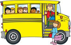 Bus clip art on school buses clip art and back to school.
