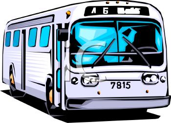 Party Bus Clipart.
