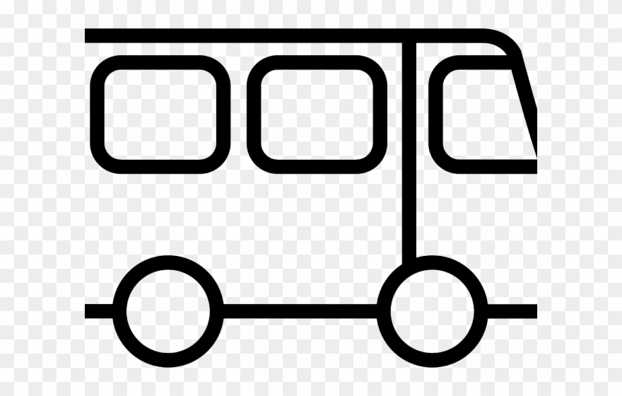 Bus Drawing Outline.