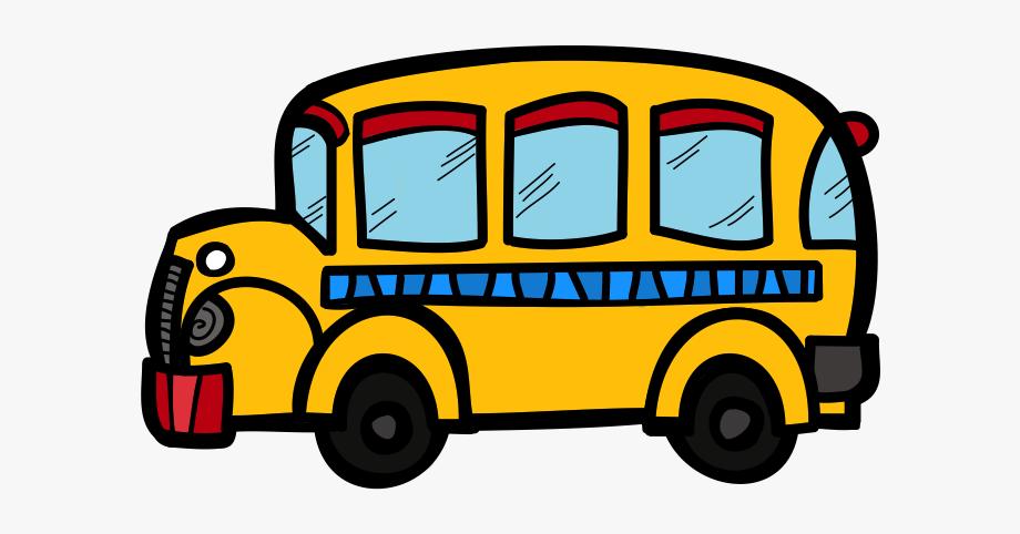 School Bus Clipart Transparent Background , Transparent.