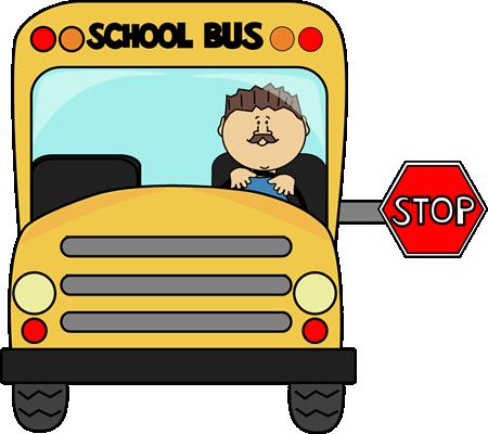 School Bus Driver Clipart.