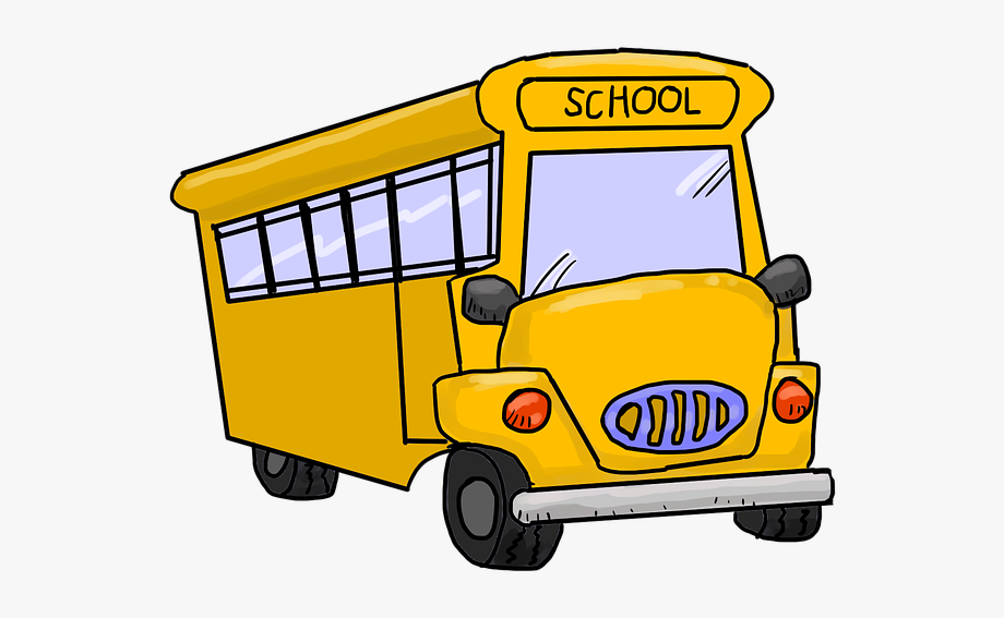 Cartoon School Bus Pictures.