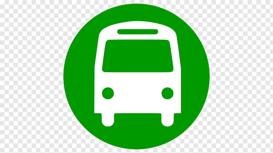 Green and white bus logo, Bus Train Computer Icons Public.